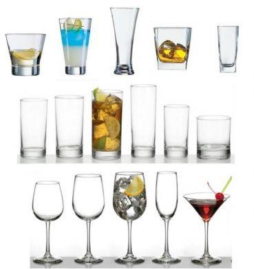 Equipamiento para la elaboracin de ccteles y bebidas for Cristaleria para bar